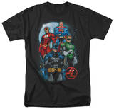Justice League - The Four Shirt