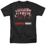 Criminal Minds - Think Like One Shirts