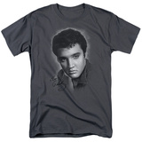Elvis Presley - Grey Portrait Shirts