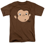 Curious George - George Face T-shirts