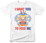 Garfield - I Want You T-shirts