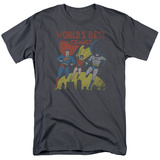 Justice League - Worlds Best Shirt