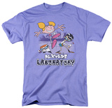 Dexter's Laboratory - Cutting In T-shirts