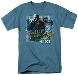 CSI - Truth Doesn't Sleep T-shirts