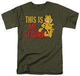 Garfield - Leaving Shirts