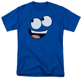 Foster's Home for Imaginary Friends - Blue Face T-Shirt
