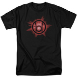 Green Lantern - Red Glow T-shirts