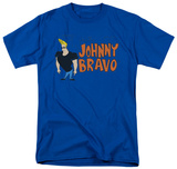 Johnny Bravo - Johnny Logo T-Shirt