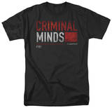 Criminal Minds - Title Card T-shirts