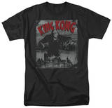 King Kong - City Poster T-Shirts
