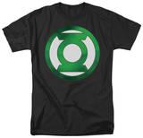 Green Lantern - Green Chrome Logo T-shirts