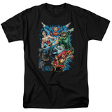 Justice League - JLA Assemble T-shirts