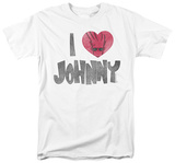 Johnny Bravo - I Heart Johnny T-Shirt