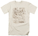 Grimm - Wesen Sketches Shirt