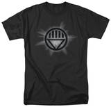 Green Lantern - Black Glow T-shirts