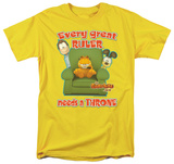 Garfield - Throne T-shirts