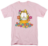 Garfield - In The Garden T-shirts