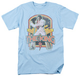 Elvis Presley - Distressed King Shirt