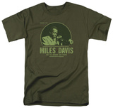 Miles Davis - The Green Miles T-shirts