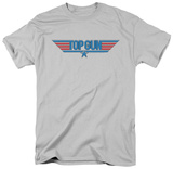 Top Gun - 8 Bit Logo T-shirts