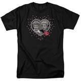 I Love Lucy - Hearts And Dots T-Shirt