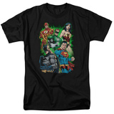 Justice League - Will Power T-shirts