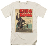 King Kong - Old Worn Poster T-Shirts