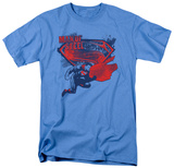 Man Of Steel - Sheild Splat T-Shirt