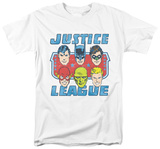 Justice League - Faces Of Justice T-Shirt