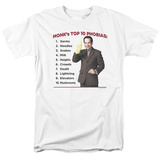 Monk - Top 10 Phobias Shirts