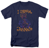 I Dream Of Jeannie - Paint T-shirts