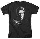 James Dean - Intense Stare T-shirts