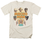 The Village People - Heads Shirts