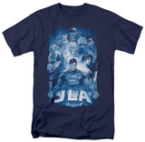 Justice League - Burst T-shirts