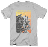 Justice League - Red Dawn Shirts