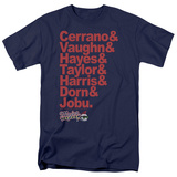 Major League - Team Roster T-shirts