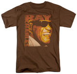 Ray Charles - Singing Distressed T-shirts