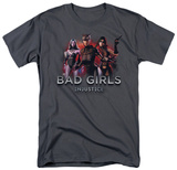 Injustice: Gods Among Us - Bad Girls T-shirts