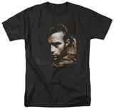 James Dean - Brown Leather T-Shirt