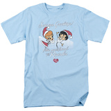 I Love Lucy - Animated Christmas T-shirts