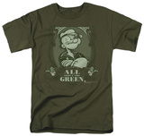 Popeye - All About The Green T-Shirt