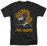 Miles Davis - Jazz Legend T-shirts