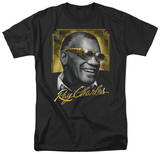 Ray Charles - Golden Glasses T-shirts