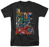 Justice League - Lettered League T-Shirt
