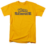 Weird Science - Distressed Logo T-shirts