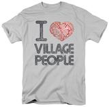 The Village People - I Heart VP T-Shirt