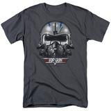 Top Gun - Iceman Helmet T-shirts
