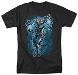 Justice League - Black Lightning Bolts T-Shirt