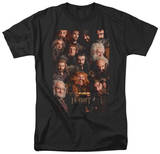 The Hobbit: An Unexpected Journey - Dwarves Poster Shirt