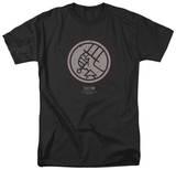 Hellboy II - Mignola Style Logo Shirt